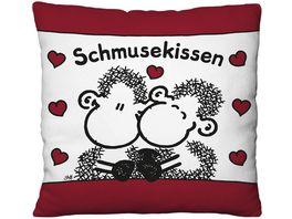 sheepworld Plueschkissen SCHMUSEKISSEN