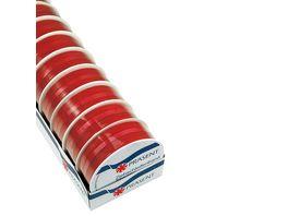 PRAeSENT Zierschleifenband rot