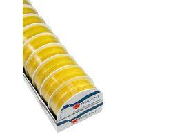 PRAeSENT Zierschleifenband gelb