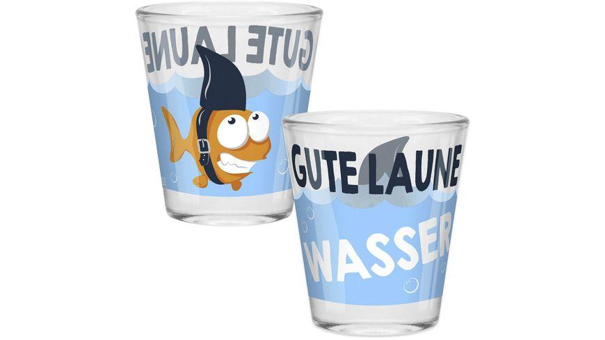 Gruss & Co Schnapsglas »Gute Laune«