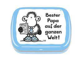 sheepworld Mintdose Bester Papa auf der ganzen Welt