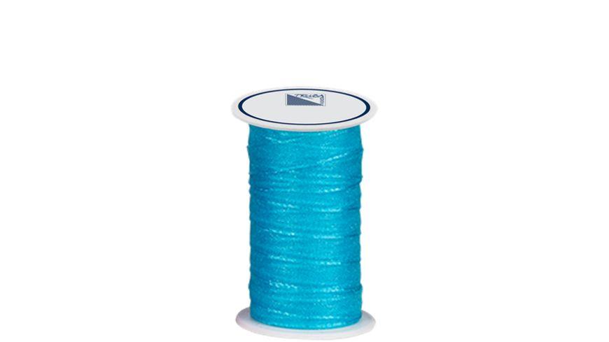 TRUBA Chiffonband mit Webkante 7mm x 5m hellblau