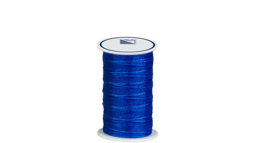 TRUBA Chiffonband mit Webkante 7mm x 5m blau