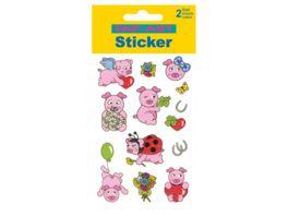 PAP ART Sticker Schweinchen