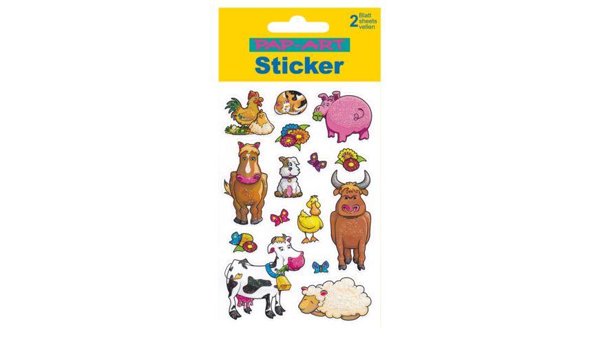 PAP ART Sticker Bauernhof
