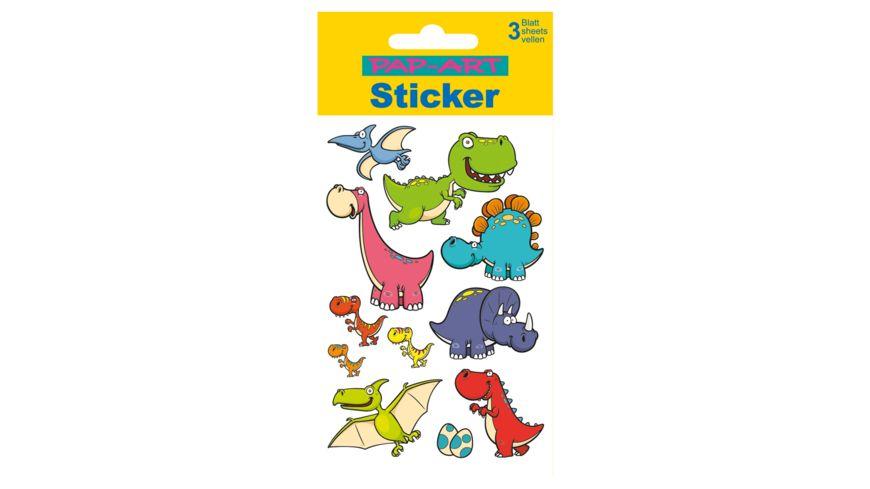 PAP ART Sticker Dinosaurier