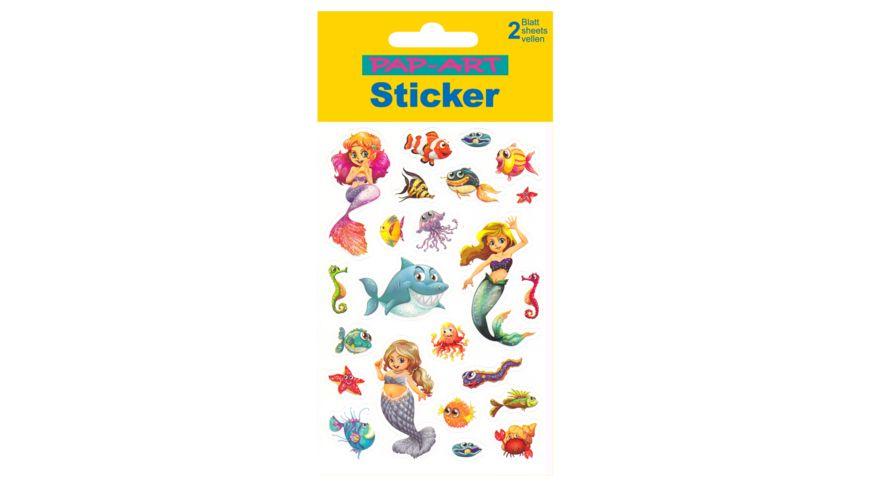 PAP-ART Sticker tropische Fische