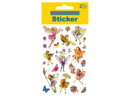 PAP ART Sticker Glitter Blumen