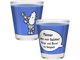 sheepworld Schnapsglas Maenner