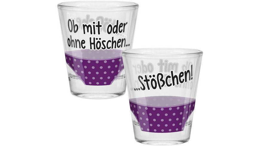Gruss & Co Schnapsglas »Höschen«