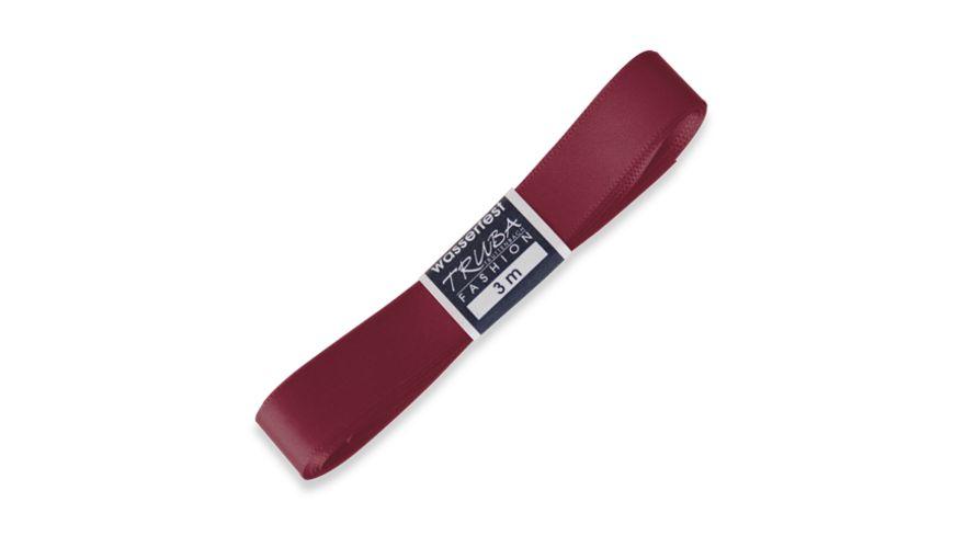 TRUBA Seidenband Trend 15mm x 3m Straengchen bordeaux