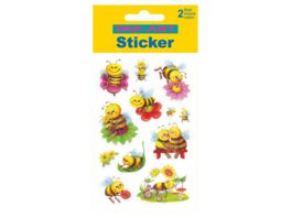 PAP ART Sticker Glitter Insekten