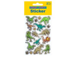 PAP ART Sticker Dinosaurier Glitzerfolie