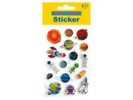 PAP ART Sticker Weltall