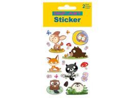 PAP ART Sticker Glitter Igel