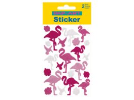 PAP ART Sticker Glitter Flamingo