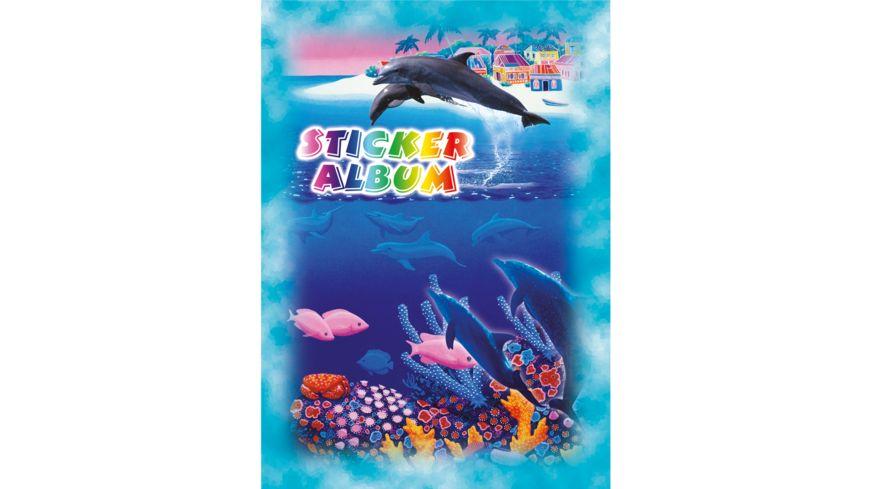 PAP ART Stickeralbum A5 Delfine sortiert