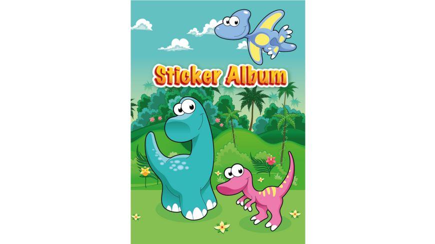 PAP ART Stickeralbum A5 Anime Girlies sortiert