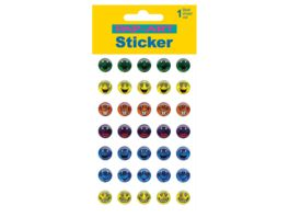 PAP ART Sticker Crystal Smileys