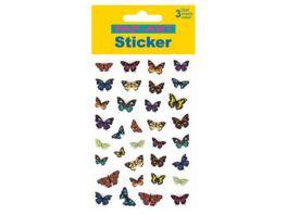 PAP ART Sticker gezeichnete Schmetterlinge