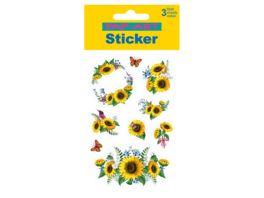 PAP ART Sticker Sonnenblumen