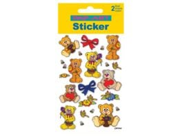 PAP ART Sticker Glitter Teddies