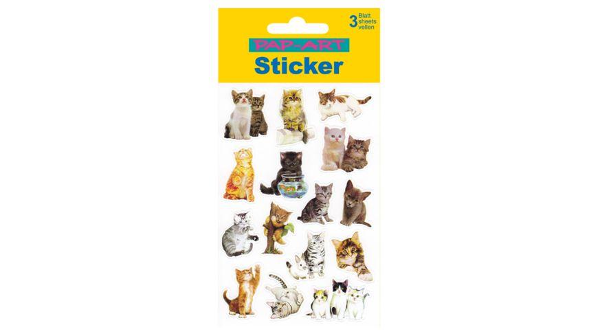 PAP ART Sticker Katzen