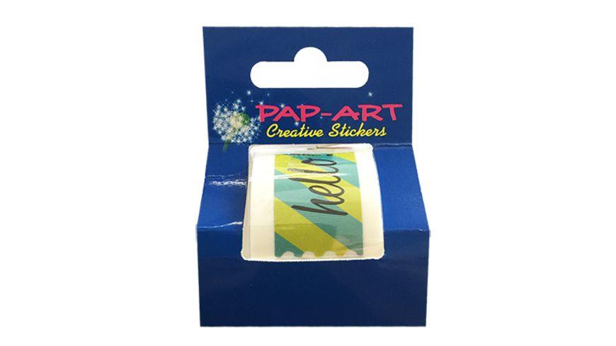 PAP ART Label Streifen