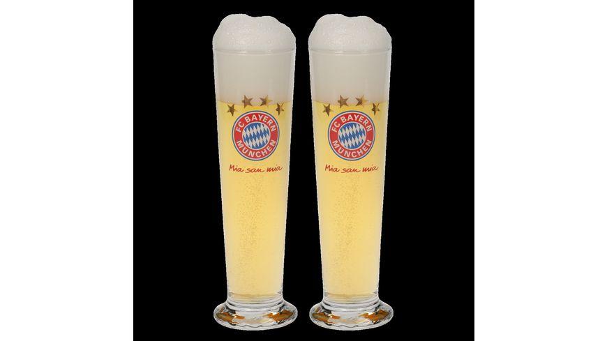 FC BAYERN MUeNCHEN Pilsglas 2er Set
