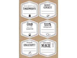 BRAUN COMPANY Sticker Gaumengenie 24 Stueck