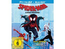 Spider Man A New Universe Blu ray 2D