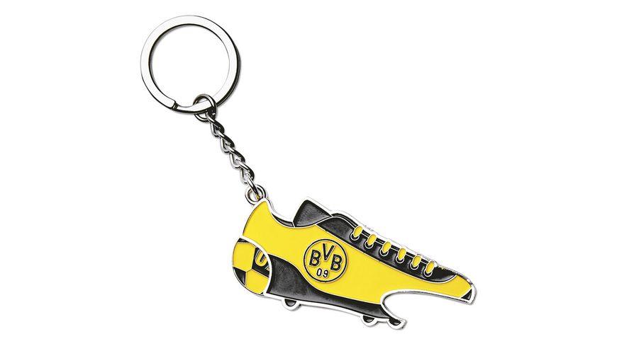BVB Schlüsselanhänger mit Einkaufschip und Öffner