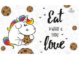 Pummeleinhorn Brettchen Eat what you love