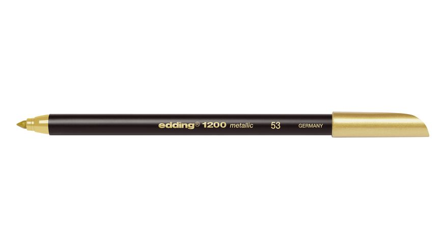 edding Fasermaler Metallic Colourpen 1200