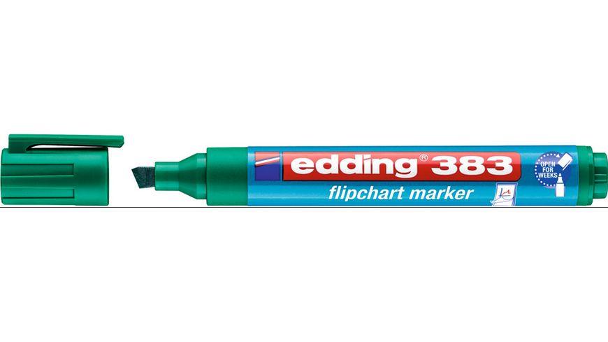 edding Flipchartmarker 383 1 5mm gruen