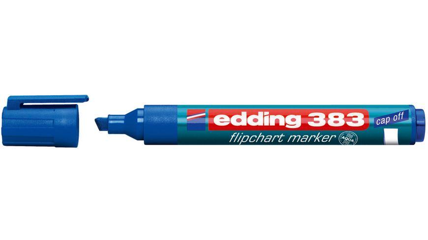 edding Flipchartmarker 383 1 5mm blau