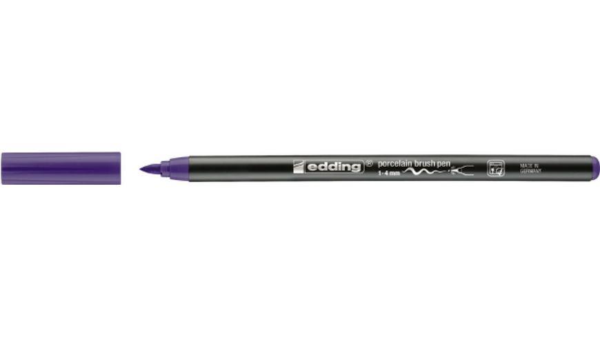 edding Porzellanpinselmaler 4200 violett