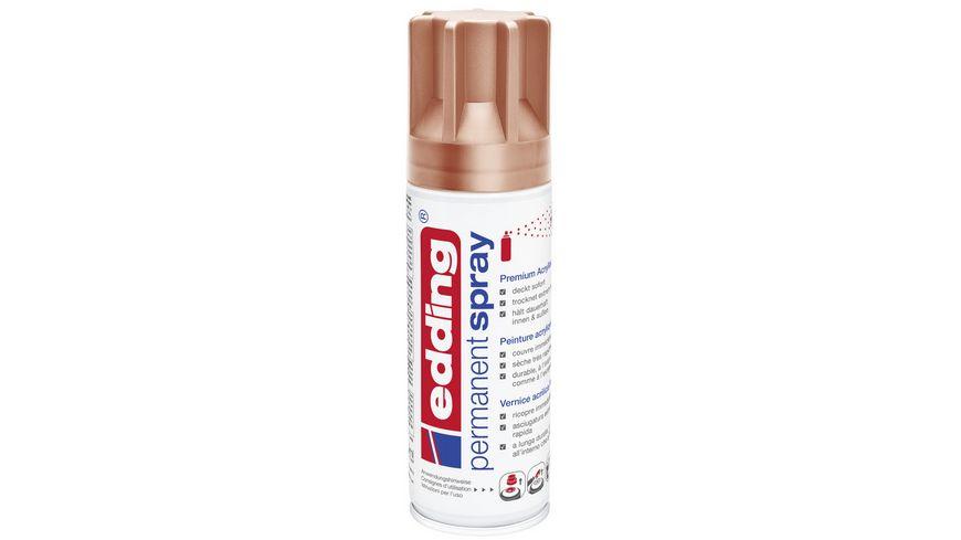 edding e 5200 Permanent Spray Kupfer 200ml