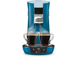 PHILIPS Senseo Viva Cafe Kaffeepadmaschine HD6563 70 blau