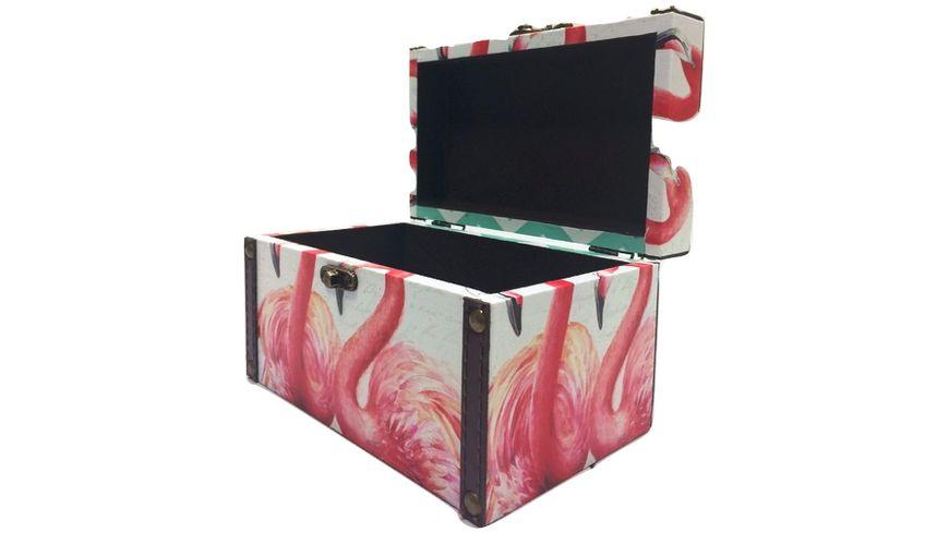 Holzbox Flamingo