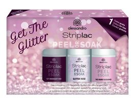 alessandro Striplac Peel or Soak Glitter Set