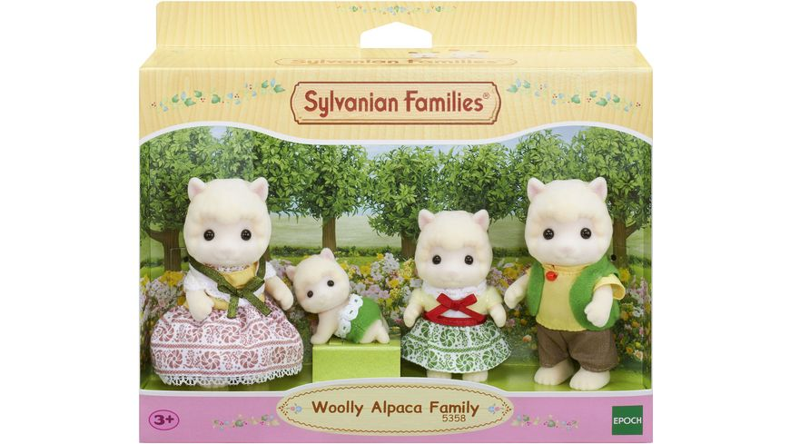 Sylvanian Families Alpaka Familie Wollig