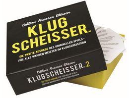 Kylskapspoesi AB Klugscheisser 2 Black Edition Edition krasses Wissen