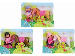 Simba Evi Love Evi Pony 3 sort 1 Stueck sortiert
