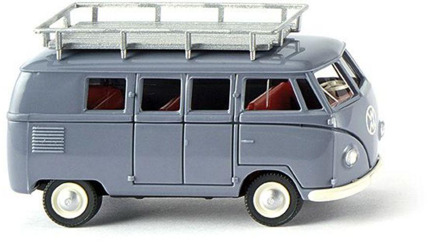 WIKING 078810  VW T1, Typ 2 Bus   taubenblau, 1:87