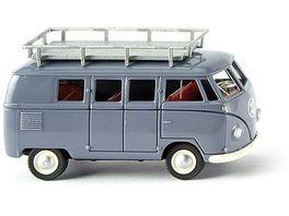 Wiking VW T1 Typ 2 Bus taubenblau 1 87