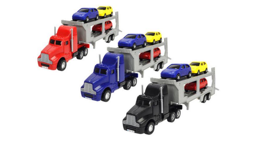 Dickie Autotransporter 1 Set sortiert