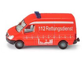 SIKU 0805 Super Krankenwagen