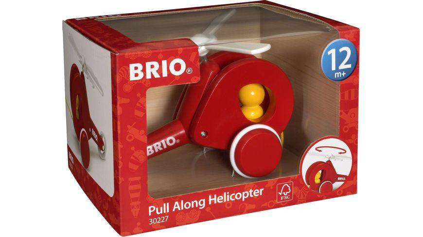 BRIO Toddler Nachzieh Hubschrauber