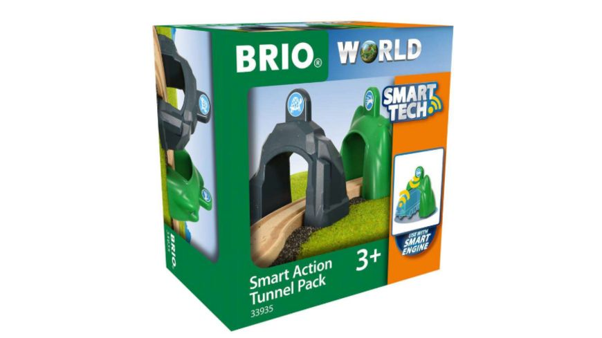 BRIO Bahn Smart Tech Action Tunnels Geschwindigkeit